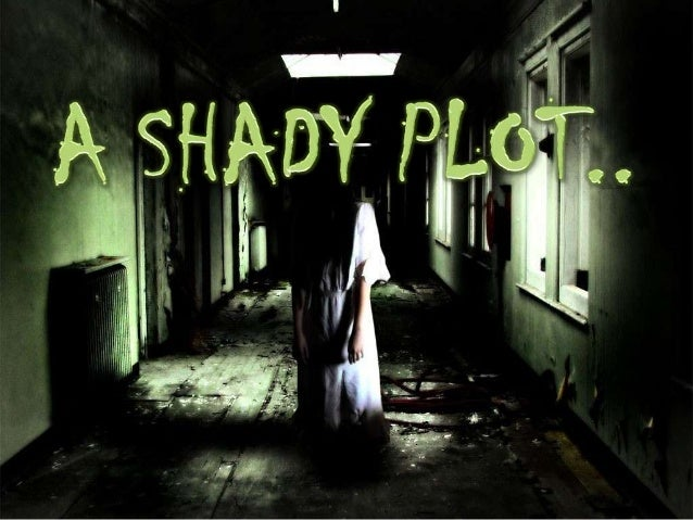 Introduction story. It does 'A Shady Plot' by Elsie brown is a comic ghost not depict the element of horror like other gho...