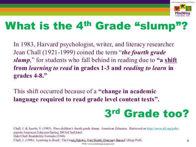 4th grade slump Storytime standouts looks at the grade four reading slump and explores ways to inspire reluctant readers.