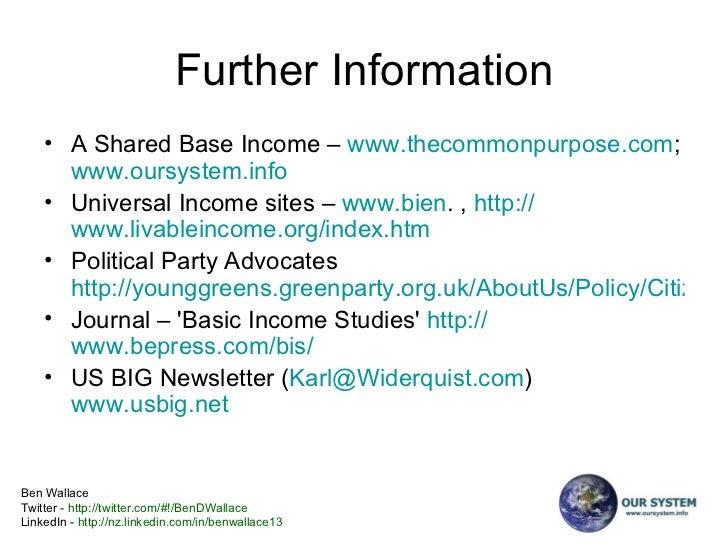 A Shared Base Income