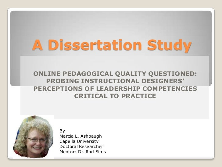 Phd creative dissertation