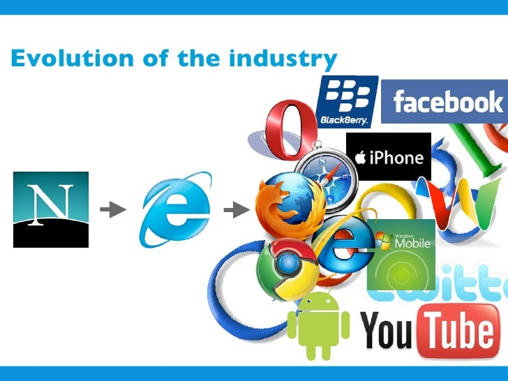 Evolution of the industry