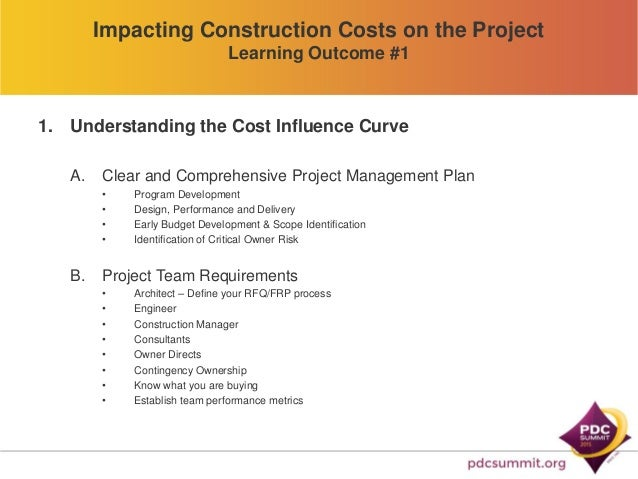 cost control in construction projects pdf
