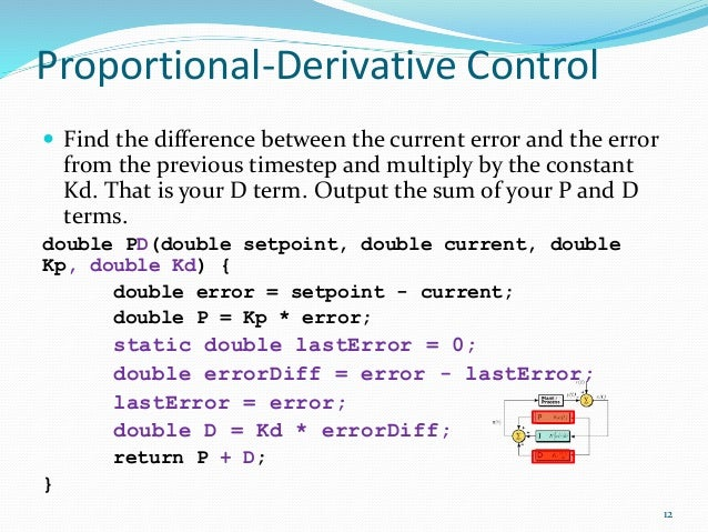 difference between p pi pid controller pdf