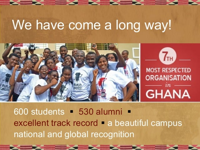 Ashesi's second decade: People, programs, spaces