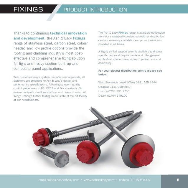 Ashfix Fastener Range - 웹