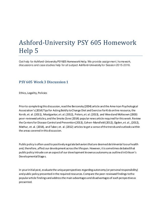Homework help slideshow