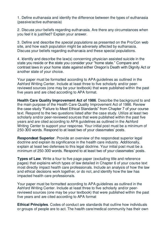 Global Euthanasia Laws