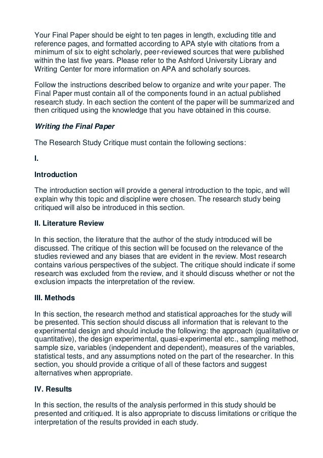 apa paper sections research paper An apa research paper model thomas delancy and adam solberg wrote the following research paper for a psychology class as you review their paper, read the side notes.