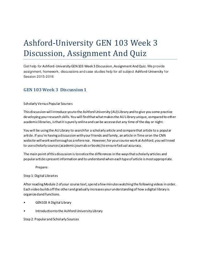 Ashford bus670 week 3 assignment