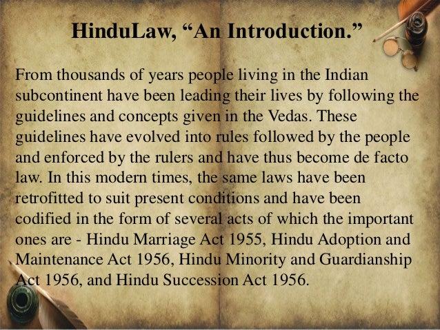 Hindu Adoptions and Maintenance Act (1956)