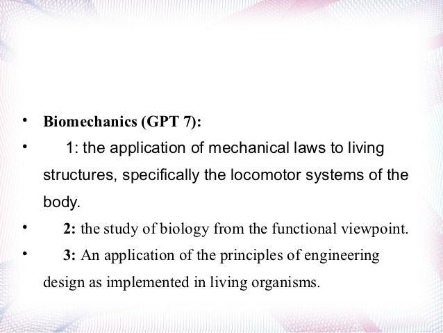 Basic Biomechanics - MCCC