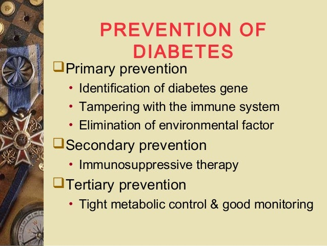 Ppt pathogenesis and research for the prevention of type 1.