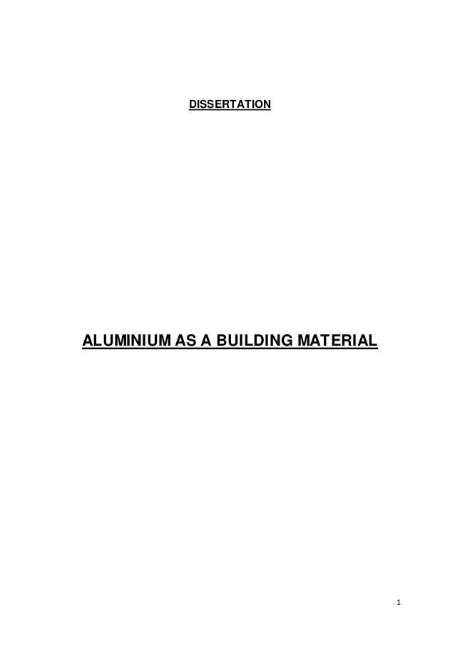 Building dissertation