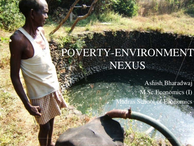 development and environment nexus Of environment-poverty nexus to the millennium development goals (mdgs) have been explored third section deals with role of international institutions and non-state actors in dealing.