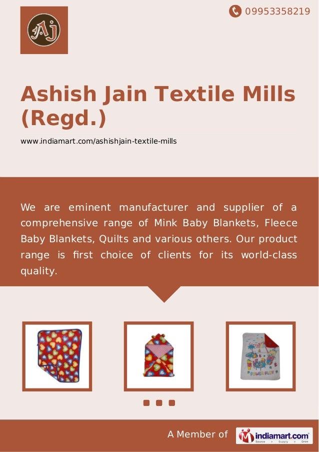 Ashish Jain Textile Mills (Regd ), Ludhiana, Flannel Baby