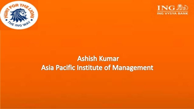 Ashish kumar asia pacific institute of management - The net a porter group asia pacific limited ...