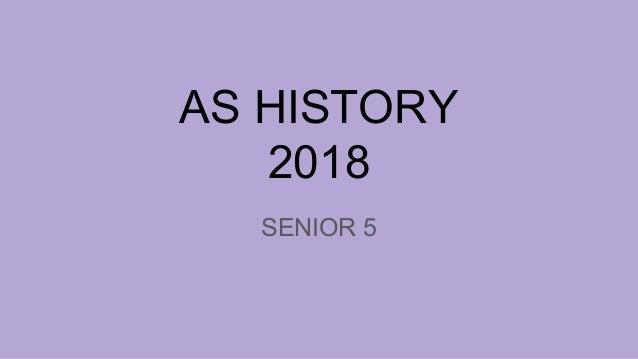 AS HISTORY 2018 SENIOR 5