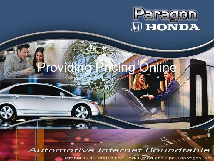 Providing Pricing Online Internet Roundtable