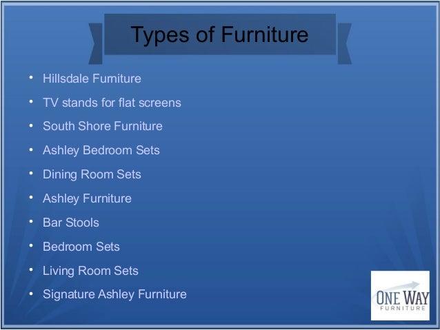 Superbe 5. Types Of Furniture ...