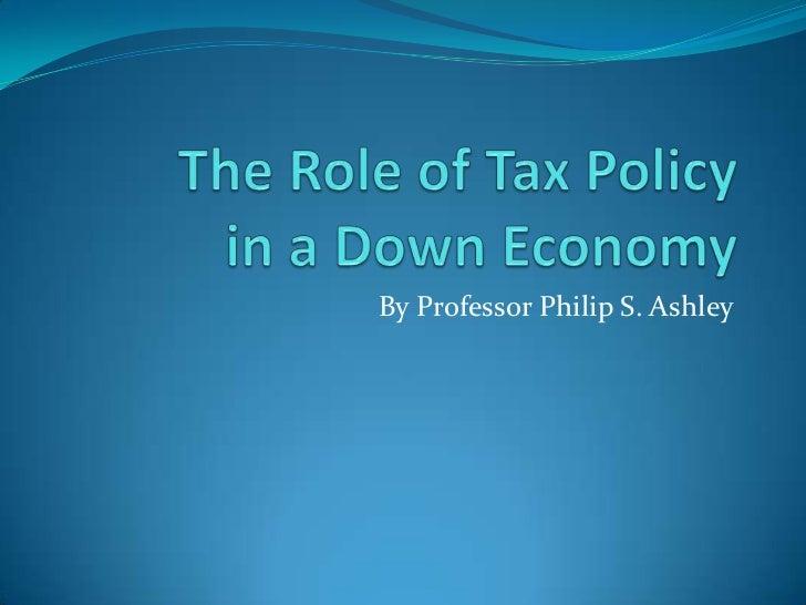 By Professor Philip S. Ashley