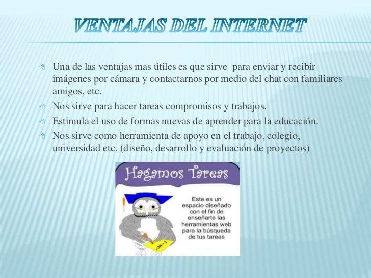 Ventajas Y Desventajas Del Internet