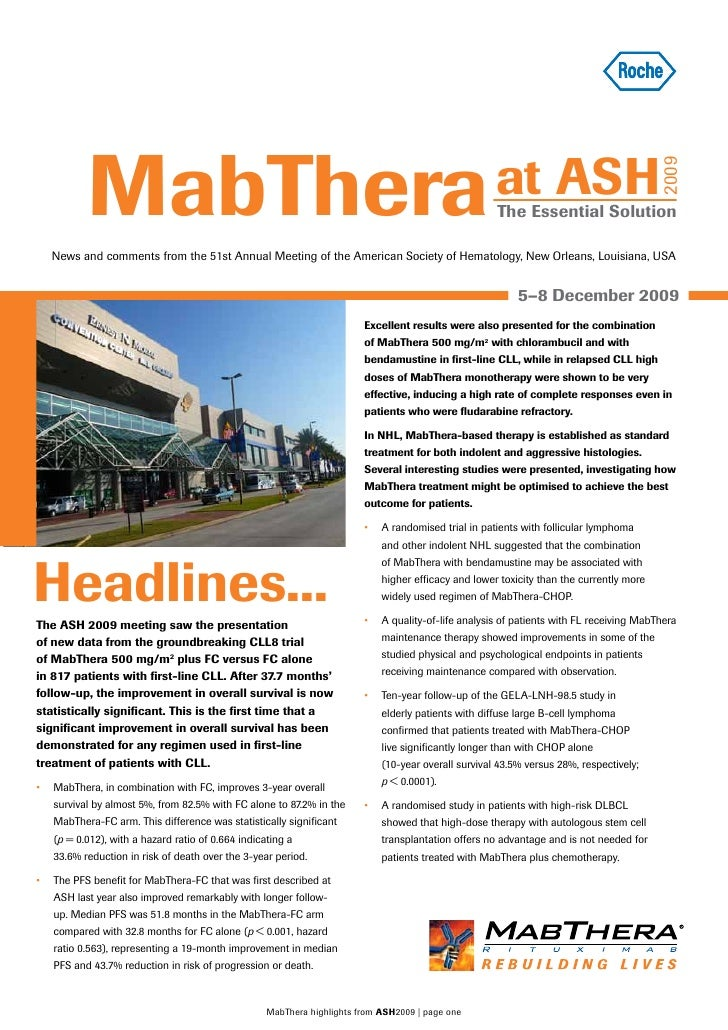 MabThera                                                                                   at ASH                         ...