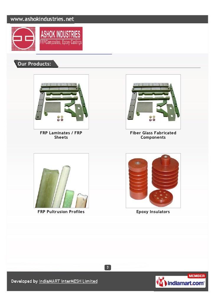 Ashok Industries, Bangalore, Epoxy Insulators Slide 3