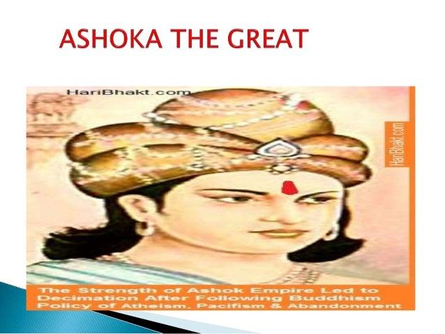 Ashoka the great....