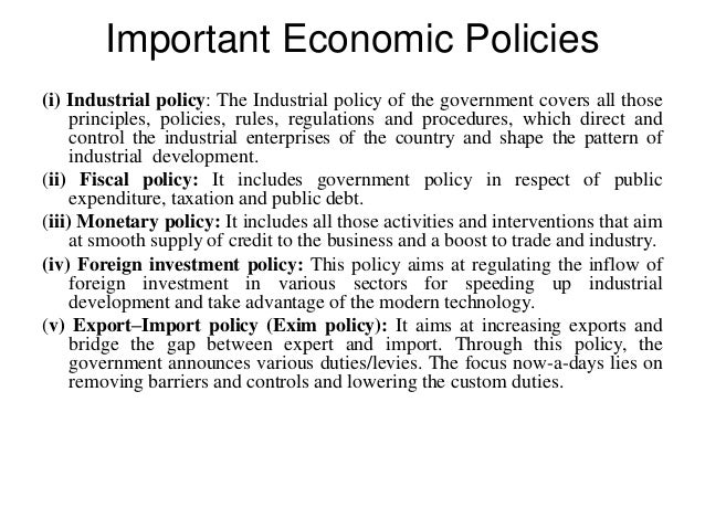 The Major Role of Monetary Policy in a Development Economy | Economics