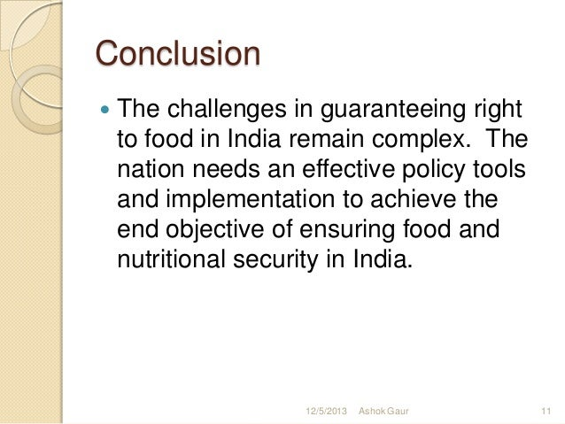 short essay on food security bill in india Food security has been a major developmental objective in india since the beginning of planning india achieved self-sufficiency in food grains in the 1970's and.