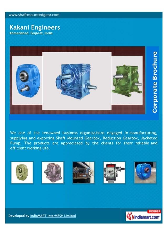 Kakani EngineersAhmedabad, Gujarat, IndiaWe one of the renowned business organizations engaged in manufacturing,supplying ...