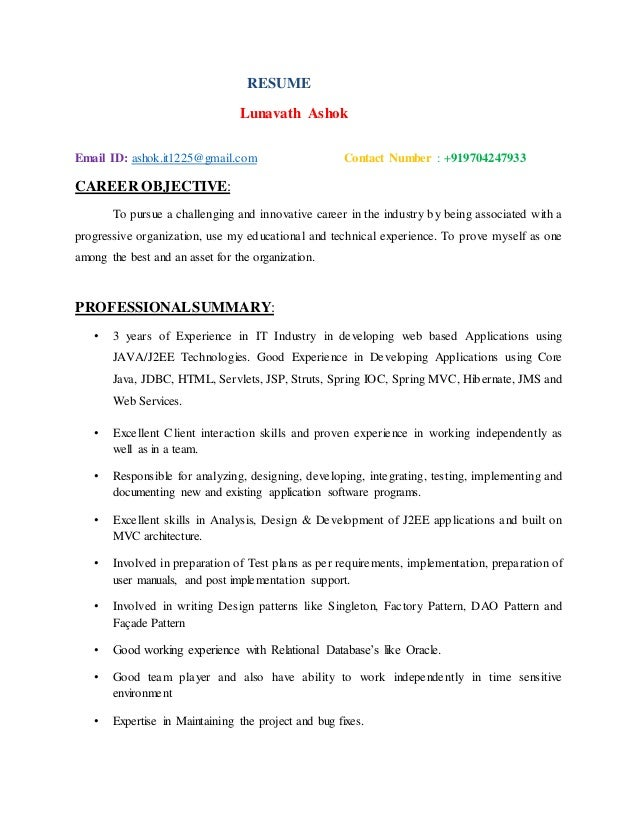 Software engineer resume java xml web st louis help with  family and consumer science dissertation conclusion