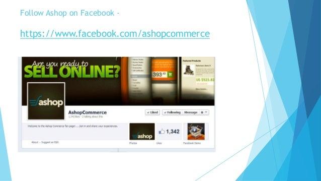 Ashop Shopping Cart Software