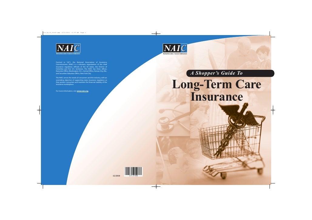 A Shopper's Guide ToLong-Term Care   Insurance