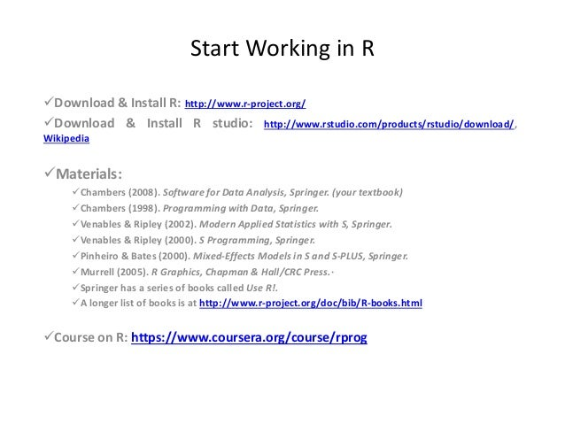 r studio download tutorial