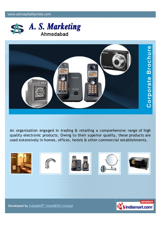 An organization engaged in trading & retailing a comprehensive range of highquality electronic products. Owing to their su...