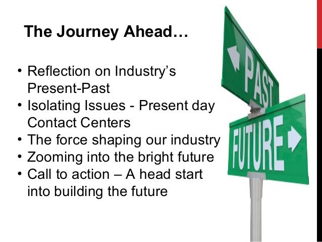 Back to the Future of future contact center- keynote Speech Presentation Slide 2