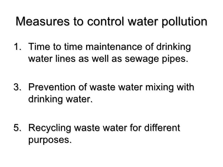 water pollution control Other articles where federal water pollution control act is discussed: clean water act:a major revision of the federal water pollution control act of 1948, which had proven ineffective.