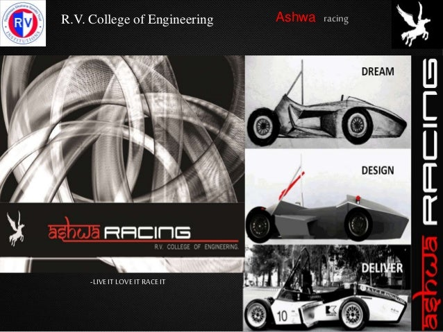 R.V. College of Engineering Ashwa racing -LIVEITLOVE ITRACEIT