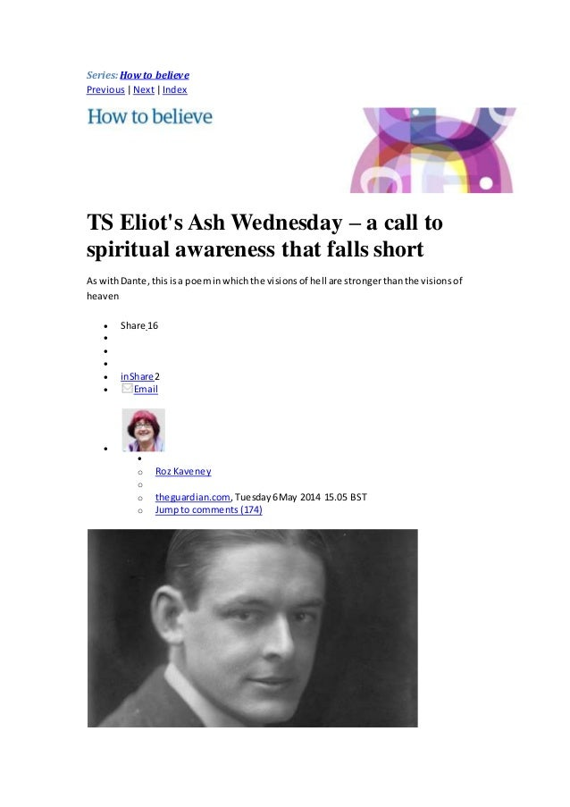 Ash wednesday ts eliot pdf to jpg
