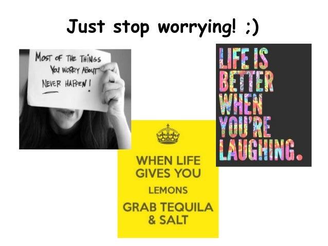 stop worrying start living pdf