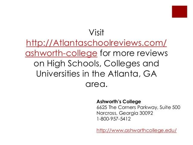Ashworth University Reviews