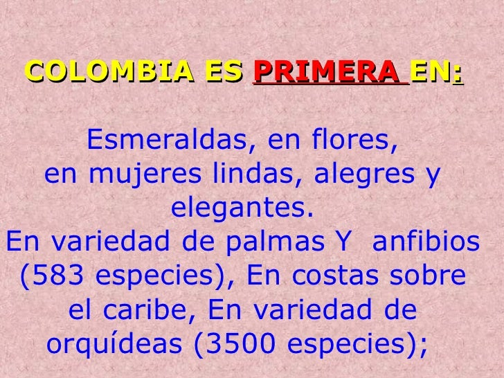 Asi es colombia conjos colombianos para todo el mundo 2