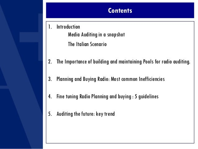 ASI 07 - How Auditing Radio campaigns helps Improve Planning and Buying Efficiency Slide 2