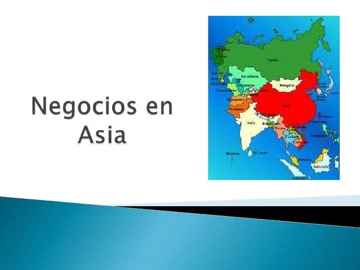 Negocios en Asia<br />