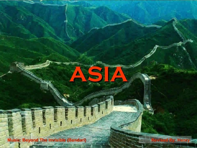 ASIA Music: Beyond The lnvisible (Bandari)  Revised By: Henry