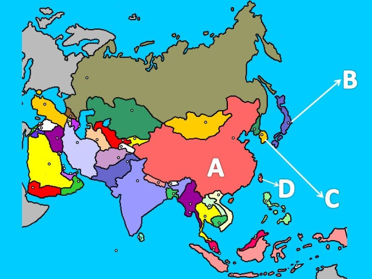 Asia-contorno examen