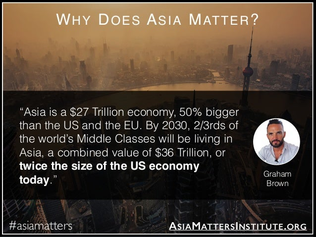 The Asia Matters Report by Graham D Brown Slide 2