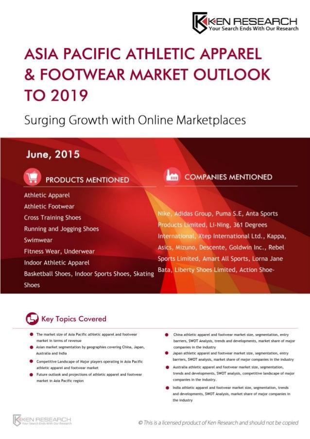 Athletic footwear industry essay