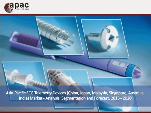 Asia-Pacific ECG Telemetry Devices (China, Japan, Malaysia, Singapore, Australia, India) Market - Analysis, Segmentation a...
